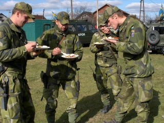 армии фото шведской